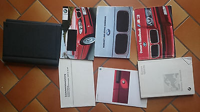 BMW E36 M3 3.0  Owners handbook, with manual + service history