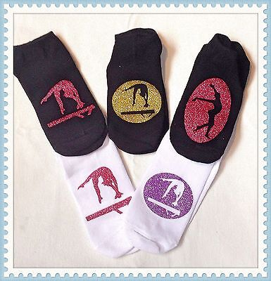 Gymnastics Gifts Socks As Shown Or Personalised - 1 Pair
