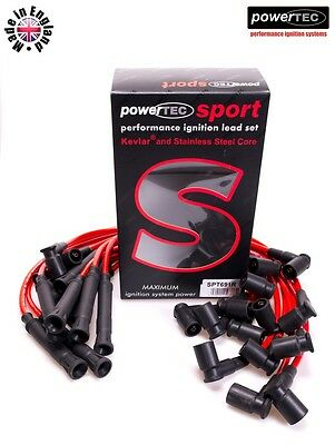PowerTEC Sport 8mm Performance Leads Wires Cable BMW e31 850 e32 750 v12 M70 B50