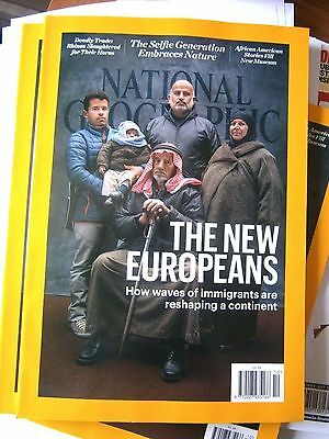 National Geographic Magazine October Issue The New Europeans (new) 2016