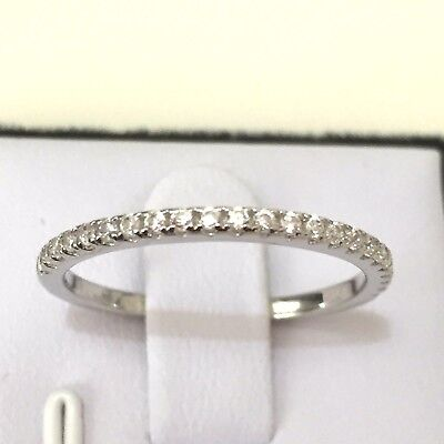 Matching Wedder: Created Diamond Engagement Wedding Matching Ring in 925 Silver