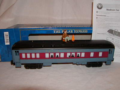 Lionel 6-35130 The Polar Express Disappearing Hobo Passenger Car O 027 New