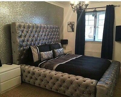 Mega Chesterfield Style Designer Bed Frame Double,king And Superking Big Sale!!!
