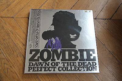 Zombie - Dawn of the Dead: Perfect Collection 1978 Laserdisc BOX BELL-745 Romero