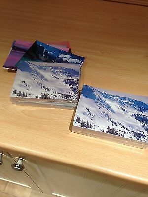 Joblot of hundreds of SEALED Postcards - landscapes of the world- see pictures