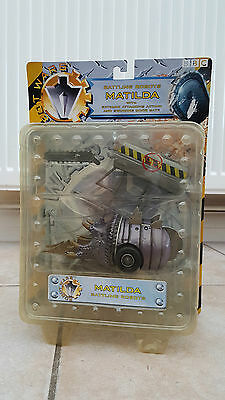 Robot Wars Matilda Rare Carded Pull Back & Go Mint Condition 2002