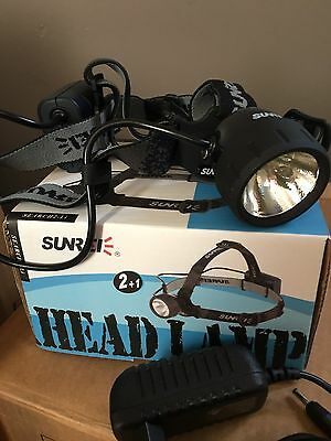 18 X Sunree S2L Rechagable With Charger, Sports Headlights  New In Packaging