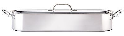 "Kitchen Craft Clearview Stainless Steel Fish Poacher 60cm (24"")"