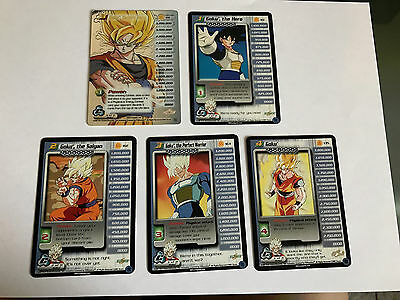 Dragonball Dbz Goku Personality Set Cell Saga Limited 1-4 + Ht