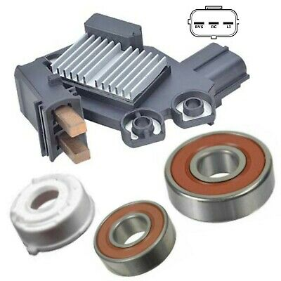 Alternator Repair Kit, Regulator Brushes Bearings 10-16 Ford Truck 6.2L Valeo