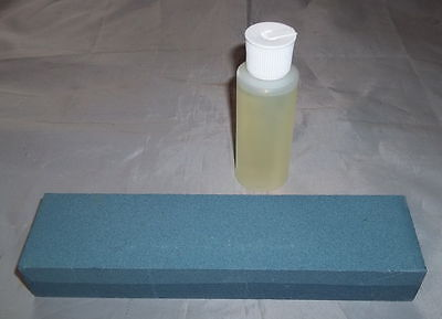 """8"""" Sharpening Stone with Honing Oil - Knives - Swords - Scissors - Tools - """"NEW"""""""