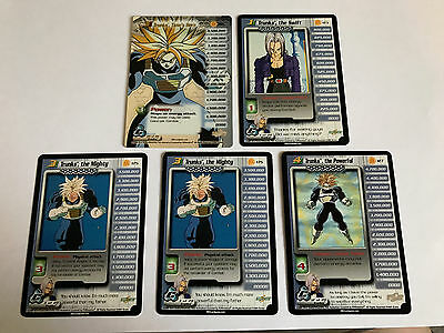 Dragonball Dbz Trunks Personality Set Cell Saga Unlimited 1-4 + Ht