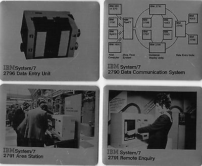 IBM System/7  promotional set of coasters vintage 1960s/70s boxed Collectable