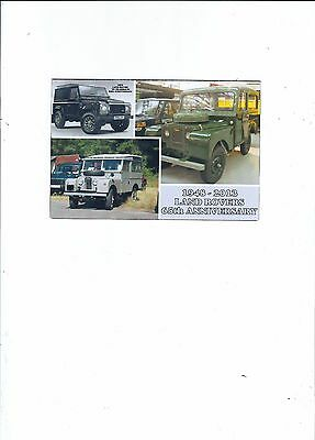 Commercial Vehicles  65Th Anniversary 0Ff Land Rovers