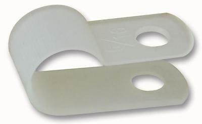 NYLON P CLIPS 7.50MM 100/PACK - Cable Management - Accessories