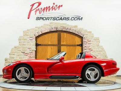 1994 Dodge Viper Base Convertible 2-Door 1994 Dodge Viper RT/10 Only 6200 Miles Collector Quality!