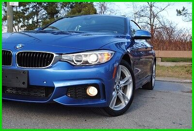 2016 BMW 4-Series 428i xDrive Grand Coupe F36 M Sport Loaded Nav M-Sport Blind Spot Technology Htd Seats  Lane Change Heads Up  Storm Loss Save