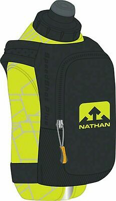 Nathan SpeedShot Plus Insulated Handheld Hydration with 12oz Bottle: