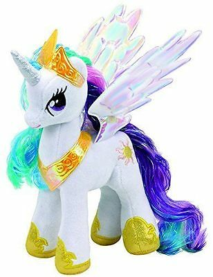*NEW IN* Ty Beanie My Little Pony Princess Celestia Collectible Plush Soft Toy