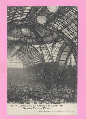 CPA 75 Exposition AUTOMOBILE, CYCLE, SPORTS 1912 (HOTCHKISS, ZEDEL, PILAIN...)