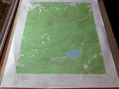 1949 Us Dept Of Interior Topo Map Lot #56, North Bloomfield, Calif.,scotts Flat