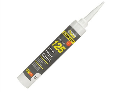 FAST DRYING CAULK- EVERBUILD - FLEXIBLE NO SANDING -One Hour Decoraters  - White