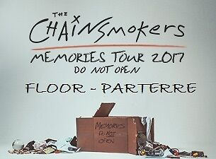 The Chainsmokers - Montreal Bell Centre 06/01/17 : Floor Tix !!!