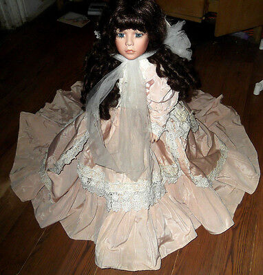 Vintage Janis Berard Porcelain Doll American Artists Collection