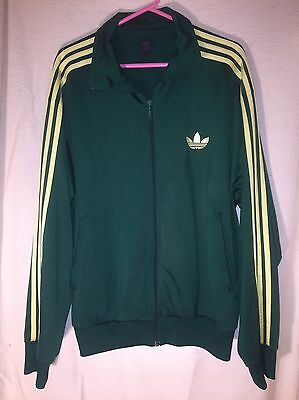 Used Mens Adidas 3 Stripe Tracksuit Track Top Size Xl