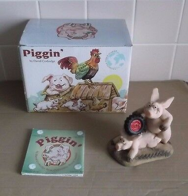 PIGGIN Roadhog Pig Boxed David Corbridge Collectable