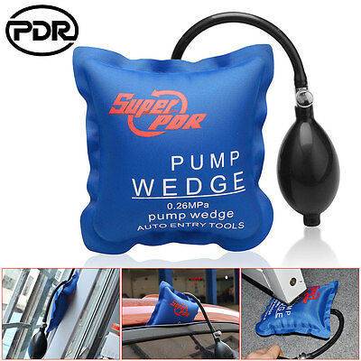 Super PDR Air Wedge Pump Up Clamps Home Door Windows Frames Car Auto Entry Tool
