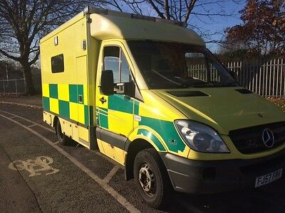 Mercedes Sprinter 2.2 Cdi 516 Twin Turbo Ambulance Automatic Gearbox Fault
