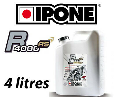 Oil IPONE R4000 RS 10W40 4 times semi-synthetic 4L NEW