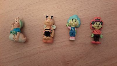 Fifi and the flowertots figures for magic garden playset or for cake toppers