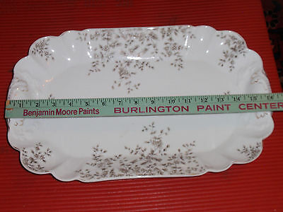Antique Porcelain Tray / Platter Carlsbad Austria  16 Inches