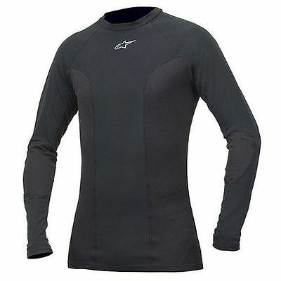 ALPINESTARS Tech Race Long Sleeve Compression Under Suit Top (Black) S (Small)