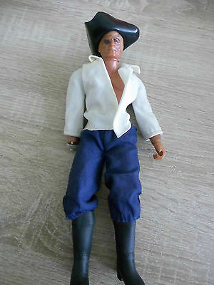 "Big Jim Pirat""captain Hook""mattel Inc.1971 Top!!!"