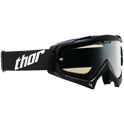 THOR MX Motocross Enemy Sand Goggles (Black) Adult One Size