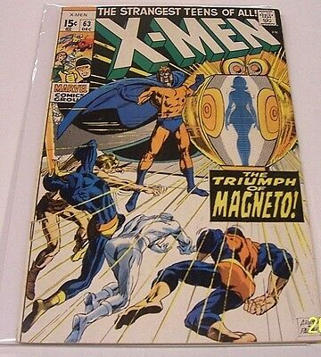 The X-Men #63 (Dec 1969, Marvel) High Grade