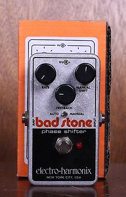 Electro-Harmonix EHX Bad Stone Phase Shifter Guitar Effects Pedal