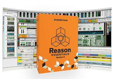 Propellerhead Reason Essentials 9 Audio MIDI Registrazione Software (NEW)
