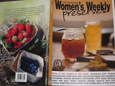 Aust Womens Weekly Cookbook  Preserves Recipes Chef Fruit  Jam Chutney