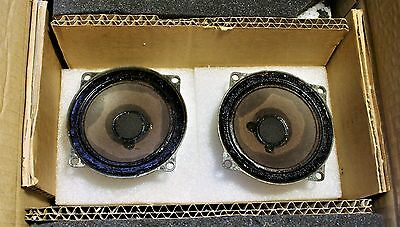 Vintage pair SEAS 9 TV L Alnico tweeters  greencone(brown) 8ohm high efficiency