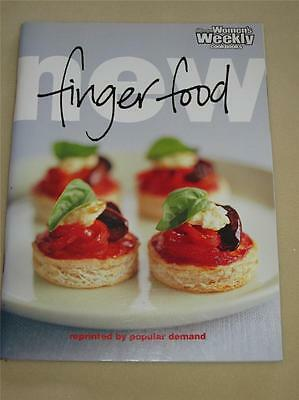 AUST WOMENS' WEEKLY COOKBOOK NEW FINGER FOOD RECIPES CHEF cooking