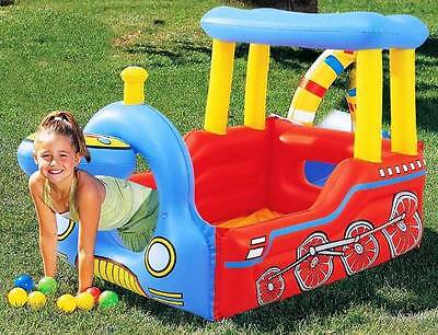 Bestway Kid Play Center Inflatable Pool Ball Pit - Train +50 ball (#52121)