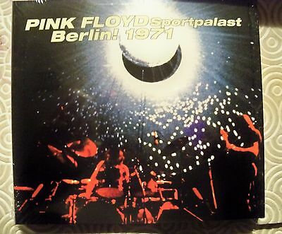 "Pink Floyd ""Berlin Sportpalast 1971"" Double Cd Live Digipack Cape Music 824 Mint"
