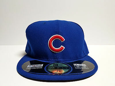 NEW ERA Chicago Cubs Royal 59FIFTY Fitted Baseball Cap Hat Size 7 7/8 NEW