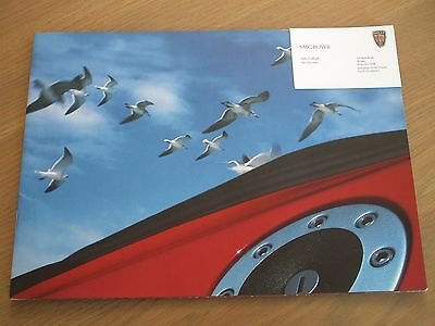 Mg Mgf 1999-2001 Uk Market Sales Brochure 1.8 & Vvc