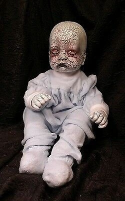 Memorial Day Sale Oliver, Creepy OOAK Horror Baby Doll