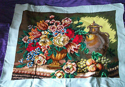 Antique hand embroidery tablecloth, 100% linen (Traditional Ukrainian Orthodox)